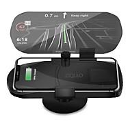 tanie Elektronika samochodowa-Ziqiao uniwersalna bezprzewodowa ładowarka uchwyt do nawigacji wyświetlacz HUD głowy
