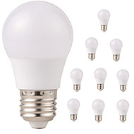 お買い得  LED ボール型電球-10個 3W 350lm E26 / E27 LEDボール型電球 G45 6 LEDビーズ SMD 2835 防水 装飾用 温白色 クールホワイト 220-240V