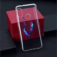 preiswerte Handyhüllen-Hülle Für Xiaomi Xiaomi Pocophone F1 / Xiaomi Redmi 6 Pro Transparent / Muster Rückseite Feder Weich TPU für Xiaomi Redmi Note 6 / Xiaomi Pocophone F1 / Xiaomi Redmi 6 Pro