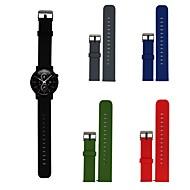 Недорогие Аксессуары для смарт-часов-Ремешок для часов для Gear S3 Frontier / Gear S3 Classic Samsung Galaxy Спортивный ремешок / Классическая застежка силиконовый Повязка на запястье