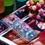 Недорогие Чехлы и кейсы для Galaxy A3(2016)-Кейс для Назначение SSamsung Galaxy A3(2016) Защита от удара / Сияние и блеск Кейс на заднюю панель Сияние и блеск / Цветы Мягкий ТПУ для A3(2016)