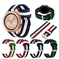 Недорогие Аксессуары для смарт-часов-Ремешок для часов для Gear Sport / Gear S2 Classic / Samsung Galaxy Watch 42 Samsung Galaxy Спортивный ремешок Нейлон Повязка на запястье