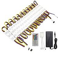 abordables Barras Rígidas de Luces LED-ZDM® 6.8m Tiras LED Rígidas / Sets de Luces 120 LED SMD5050 Controlador remoto de 1 44 teclas / 1 cable de CA / 1 x 12V 3A adaptador RGB Impermeable / Creativo / Fiesta 12 V / 120-240 V 1 juego