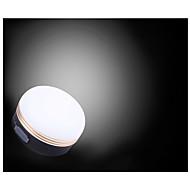 お買い得  -TANXIANZHE® ランタン&テントライト LED LED エミッタ 3 照明モード USBケーブル付き パータブル, 調整可, コンパクトデザイン キャンプ / ハイキング / ケイビング, 日常使用 ブラック / ホワイト