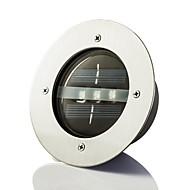 preiswerte LED Solarleuchten-Solar Power Dock runde vertiefte Pathway Garten LED-Licht