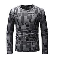 cheap -Men's Basic T-shirt - Geometric