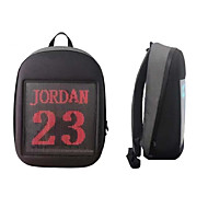 cheap -Factory OEM LED display backpack LED Light Travel Wired USB WIFI Water Resistant / Water Proof Smart Portable Cute