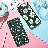 Carcasă Pro Apple iPhone XR / iPhone XS Max Vzor Zadní kryt Rostliny / Komiks / Květiny Měkké TPU pro iPhone XS / iPhone XR / iPhone XS Max