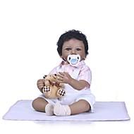 お買い得  -NPKCOLLECTION リボーンドール ガールドール 赤ちゃん(女) 24 インチ 新生児 プレゼント 人工インプラントブラウンアイズ 子供 女の子 おもちゃ ギフト