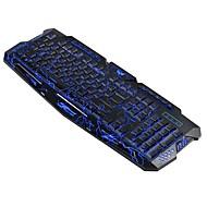 preiswerte Tastaturen-OEM M200 Kabel Multi farbige Hintergrundbeleuchtung Neuheit 104 pcs 3D Tragbar / Neues Design / Programmierbar USB angetrieben angetrieben