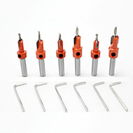 cheap -6 pcs drill Convenient Easy assembly Hexagon Head Factory OEM 6PC Fit for Electric Drills Fit for other power tools