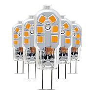 levne -5pcs 3 W 200-300 lm G4 LED Bi-pin světla T 12 LED korálky SMD 2835 Půvab 220-240 V