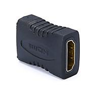 levne -hdmi konektor žena na ženské konvertor adaptér pro laptop monitor projektor hdtv ps3 hra box hdmi rozšíření spojovací konektor