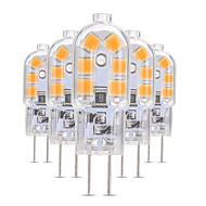levne -5pcs 3 W 200-300 lm G4 / G8 LED Bi-pin světla T 12 LED korálky SMD 2835 Půvab 12 V
