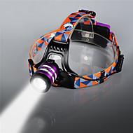 お買い得  フラッシュライト/ランタン/ライト-U'King ZQ G7000 ヘッドランプ 自転車用ヘッドライト LED LED 1 エミッタ 1000 lm 3 照明モード ズーム可能, 焦点調整可, 充電式 キャンプ / ハイキング / ケイビング, 釣り, 旅行