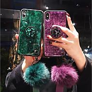 fodral Till Apple iPhone XS Max / iPhone 6 Stötsäker Skal Glittrig Mjukt TPU för iPhone XS / iPhone XR / iPhone XS Max