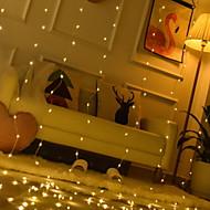 ieftine -3M Fâșii de Iluminat / Telecomenzi 300 LED-uri Alb Cald Decorativ Alimentat USB 1set