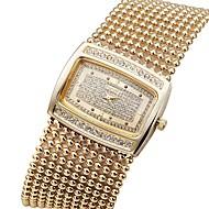 저렴한 -ASJ 여성용 드레스 시계 일본어 일본 쿼츠 구리 실버 / 골드 캐쥬얼 시계 아날로그 패션 미니멀리스트 - 골드 실버 1 년 배터리 수명 / SSUO SR626SW + CR2025