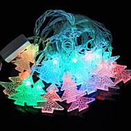 cheap -4m String Lights 20 LEDs Multi Color Decorative 220-240 V 1 set