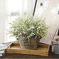 お買い得  -人工花 3 ブランチ クラシック 欧風 田園 スタイル 植物 テーブルトップフラワー