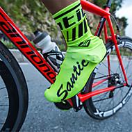 levne -SANTIC Dospělé Cyklo návleky na boty Voděodolný, Protiskluzový Multisport / Cyklistika / Kolo Trávová zelená / Černá / Rubínově červená Unisex Obuv na cyklistiku