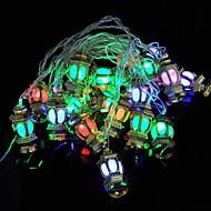 Χαμηλού Κόστους -4m Φώτα σε Κορδόνι 20 LEDs Πολύχρωμα Διακοσμητικό 220-240 V 1set