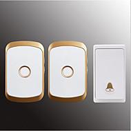 رخيصةأون -لاسلكي واحد إلى اثنين الجرس موسيقى / دينغ دونغ جرس الباب غير المرئية في السطح