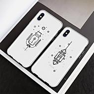 economico -Custodia Per Apple iPhone XS / iPhone XR Fantasia / disegno Per retro Geometrica / Cartoni animati Morbido TPU per iPhone XS / iPhone XR / iPhone XS Max