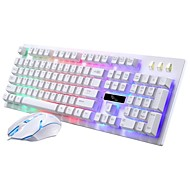 cheap -Wired / Cable Mouse keyboard combo Color Gradient / Backlit / Spill-Resistant USB Powered Gaming keyboard Gaming Mouse / Ergonomic Mouse 1600 dpi 5 pcs
