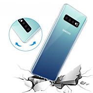 ราคาถูก -Case สำหรับ Samsung Galaxy Galaxy S10 / Galaxy S10 Lite Transparent ปกหลัง สีพื้น Soft TPU สำหรับ S9 / S9 Plus / S8 Plus
