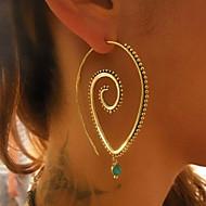 levne -Dámské Geometrické Náušnice - Kruhy - Módní Šperky Zlatá / Stříbrná Pro Denní Rande 1 Pair