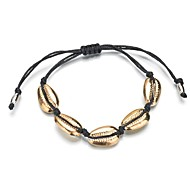 preiswerte -Herrn Damen Seil loom-Armband - Tropisch Armbänder Schmuck Gold / Silber Für Hochzeit Party Geschenk Alltag Ausgehen