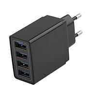 halpa -USB-laturi -- 4 Työpöydän latausasema Uusi malli US-pistoke / EU-pistoke Latausadapteri