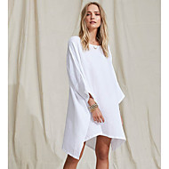 halpa -naisten edellä polvi ohut tunika mekko khaki valkoinen laivasto sininen s m l xl