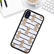 cheap -LITBest Case For Apple iPhone X / iPhone XR Pattern Back Cover Food Soft TPU for iPhone XS / iPhone XR / iPhone XS Max