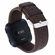 Παρακολουθήστε Band για Fitbit Versa Fitbit Κλασικό Κούμπωμα Γνήσιο δέρμα Λουράκι Καρπού