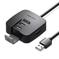 abordables -4 Hub USB USB 2.0 USB 2.0 Haut débit / Créatif / Confortable Hub de données