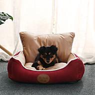 economico -Prodotti per cani Prodotti per gatti Prodotti per roditori Lettini Animali domestici Cuscino & Cuscini Tinta unita Bello Allevia lo stress Ripiegabile Lavabile Caffè Rosso Blu Per animali domestici