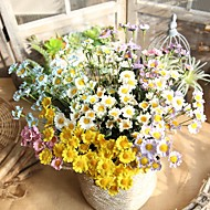 cheap -Artificial Flowers 1 Branch Single Rustic Pastoral Style Daisies Tabletop Flower