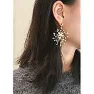 Χαμηλού Κόστους -Γυναικεία Σκουλαρίκι Σκουλαρίκια Κοσμήματα Χρυσό / Ασημί Για Πάρτι Επέτειος Δώρο Εξόδου Φεστιβάλ 1 Pair