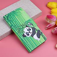 Custodia Per Samsung Galaxy Galaxy A30(2019) / Galaxy A50(2019) A portafoglio / Porta-carte di credito / Con chiusura magnetica Integrale Animali / Panda Resistente pelle sintetica per A6 (2018