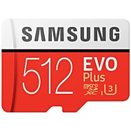 abordables -SAMSUNG 512GB TF carte Micro SD Card carte mémoire Class10 U3 4K EVO plus