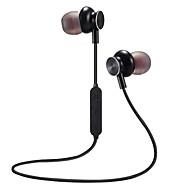 저렴한 -LITBest 귀에 무선 헤드폰 이어폰 PP+ABS / 메탈 스포츠 및 피트니스 이어폰 스포츠 & 아웃도어 / 스테레오 / 마이크 포함 헤드폰
