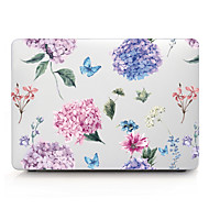 "voordelige -MacBook Hoes Bloem PVC voor MacBook Pro 13'' met Retina-scherm / MacBook Air 13"" / New MacBook Air 13"" 2018"