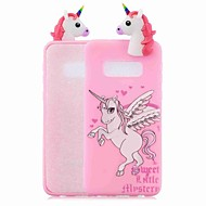 cheap -Case For Samsung Galaxy S9 Plus / S8 Pattern Back Cover Unicorn Soft TPU for S9 / S9 Plus / S8 Plus