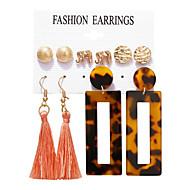 preiswerte -Damen Vintage Stil Ohrringe Set Ohrringe Stilvoll Schmuck Gold Für Alltag Festtage 5 Paare