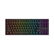 billige -DURGOD Taurus K320 USB Wired Mekanisk tastatur Gaming Selvlysende Multi farve baggrundslys 87 pcs nøgler