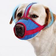billige -Hunde Muler Bærbar Mini Trener Ensfarvet Net Rød