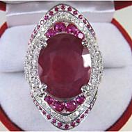 Dámské Zásnubní prsten Akvamarín 1ks Červená Měď Geometric Shape stylové / Luxus Párty / Zásnuby Kostýmní šperky