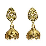 Χαμηλού Κόστους -Γυναικεία Κρεμαστά Σκουλαρίκια Σκουλαρίκι Σκουλαρίκια Κοσμήματα Χρυσό Για Φεστιβάλ 1 Pair